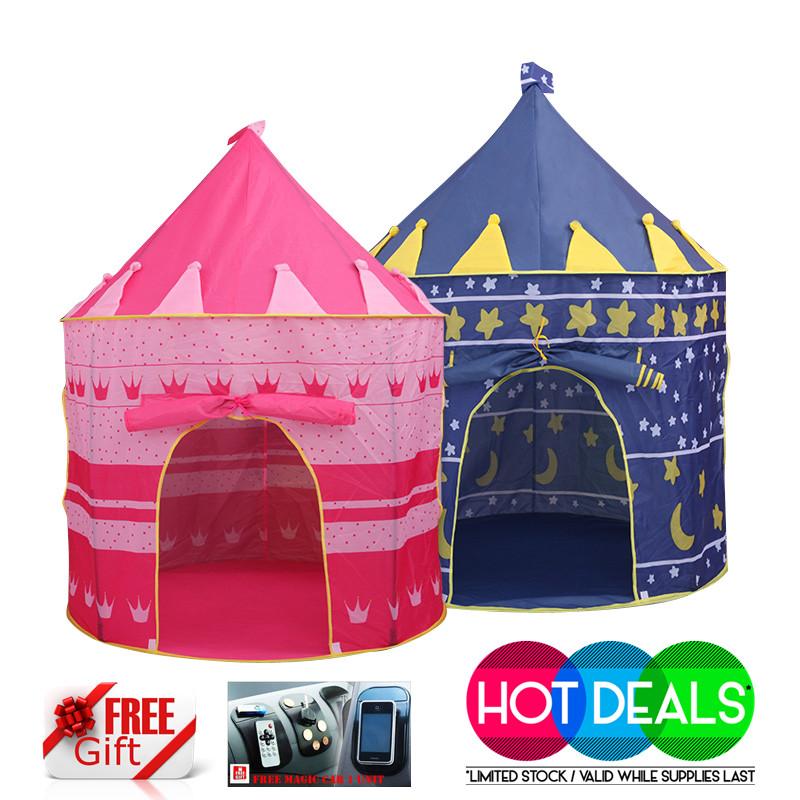 Ecosport Portable Folding Kids Play Tent Castle Cubby