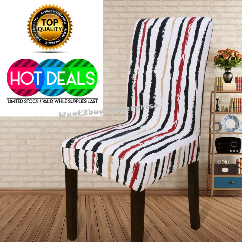 2 X Spandex Stretch Washable Dining Stool Chair Cover  : 09 from www.11street.my size 800 x 800 jpeg 223kB