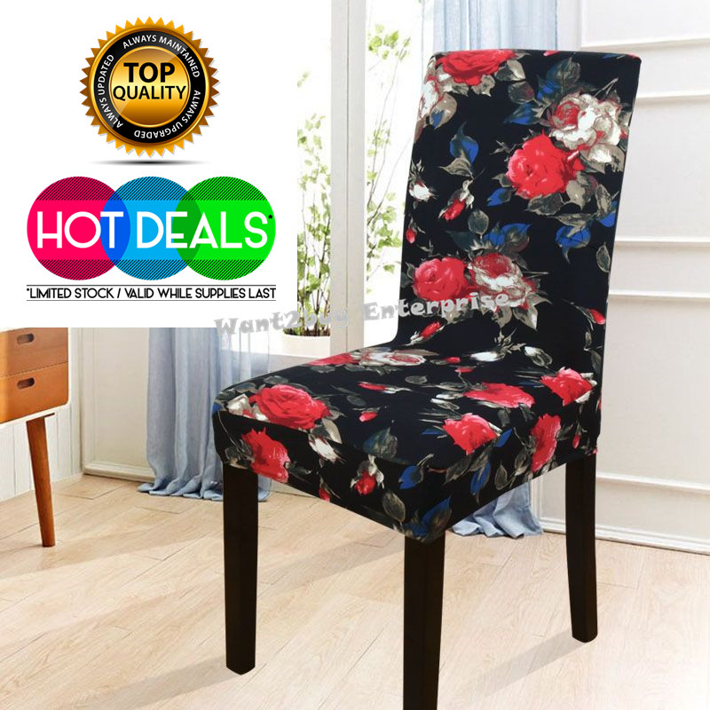 2 X Spandex Stretch Washable Dining Stool Chair Cover  : 11 from www.11street.my size 800 x 800 jpeg 182kB