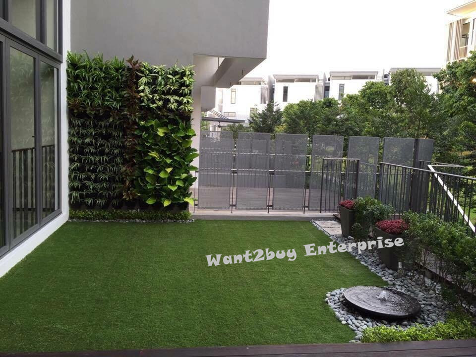20mm DIY ARTIFICIAL GRASS ROLL (2M X 25M) FAKE GRASS SYNTHETIC GRASS