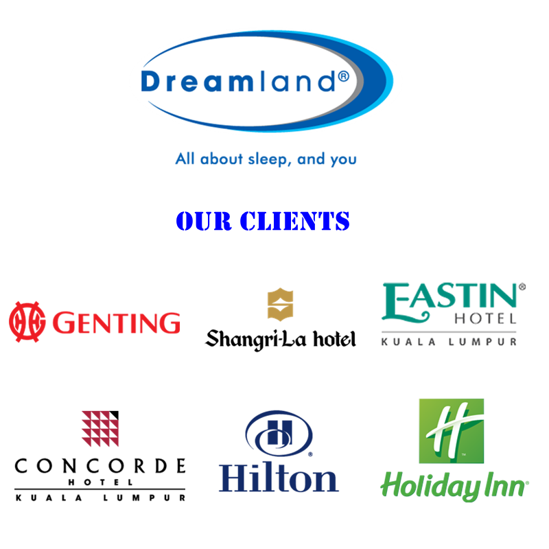 Dreamland Top Sell Tilam Hotel Series Eurotop Mattress