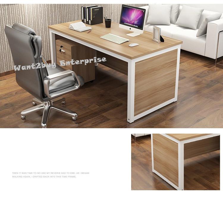 Modern 4 Feet Wooden Office Comput End 11 18 2020 11 15 Pm
