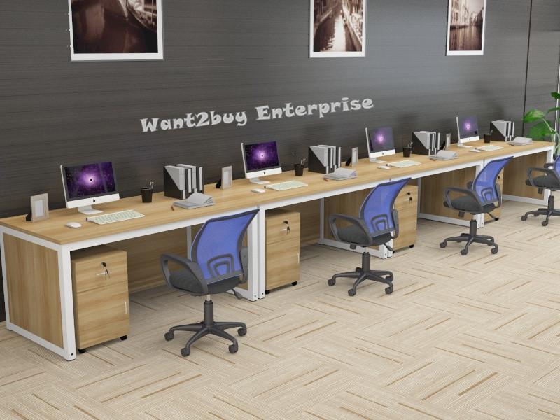 Modern 4 Feet Wooden Office Computer Laptop Study Writing