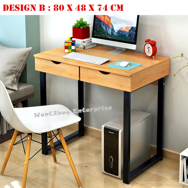 High Quality Home Office Furniture: EASY DIY High Quality Study Computer Office Drawer Table