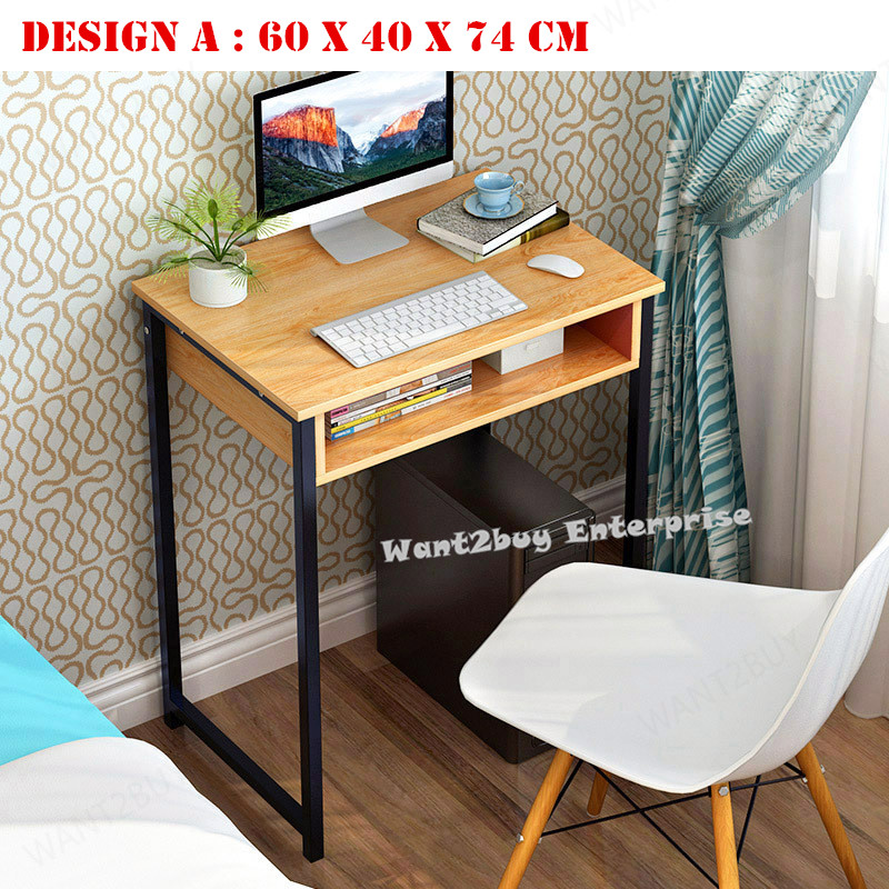 Easy diy high quality study computer office drawer table for Diy study table design