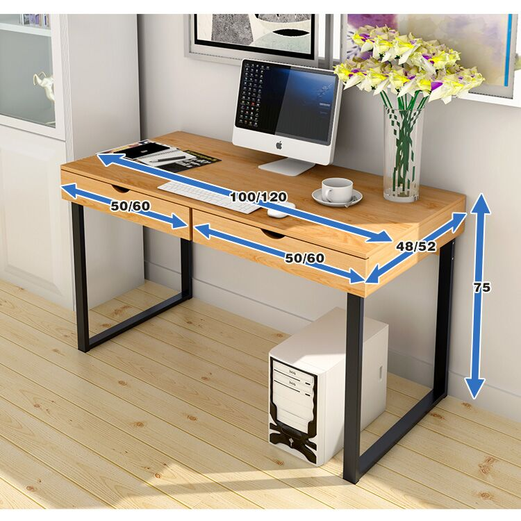 High Quality Office Desk: EASY DIY High Quality Study Computer Office Drawer Table