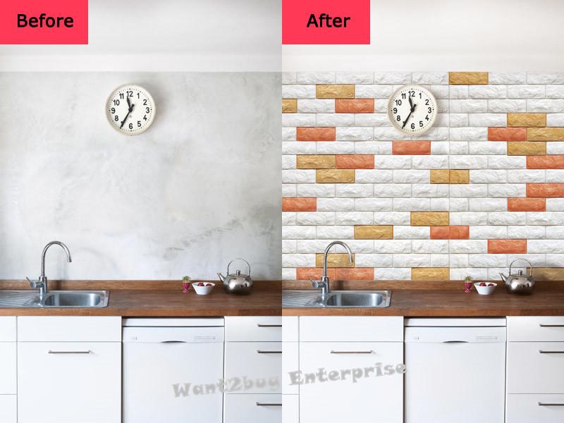 New 3d Wallpaper Brick Design Foam D End 7 18 2020 1 15 Pm